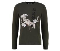CRANE Sweatshirt khaki/olive