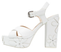 High Heel Sandaletten - white