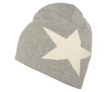 Mütze grey melange