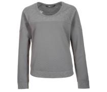 RECOVER-UP - Sweatshirt - zink grey/medium grey heather