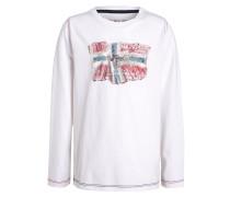 SAPTARI Langarmshirt bright white