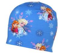 FROZEN Mütze blau/wie/pink