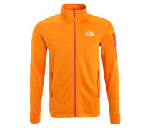 HADOKEN Fleecejacke exuberance orange heather