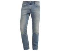 Jeans Straight Leg washed indigo