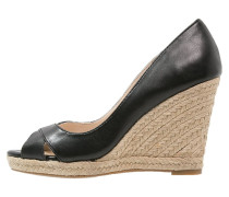 CALLIE Keilpumps black