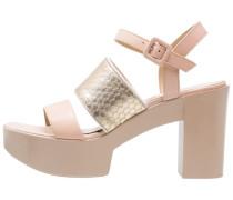 High Heel Sandaletten avorio/platino