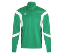 CLASSIC TEAM Langarmshirt smaragd/white