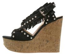 BLOSSOM High Heel Sandaletten black/desert