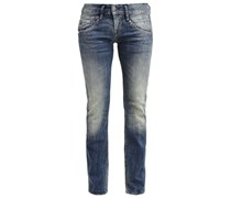 JOLINA Jeans Straight Leg retro blue