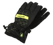 OVERWEB Fingerhandschuh mottled black