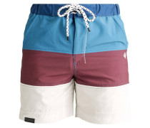 STROL Badeshorts navy dark red