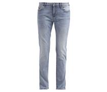 Jeans Straight Leg bleached blue