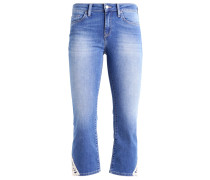 ANIKA - Flared Jeans - mid indigo