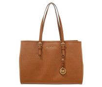 JET SET TRAVEL - Handtasche - cognac