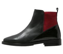 MONACO Ankle Boot noir/rouge