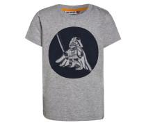 TEO TShirt print grey melange