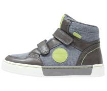 Sneaker high dark grey/green/dark blue