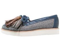 BEA 4 Slipper jeans light blue/multicolor/new malden white