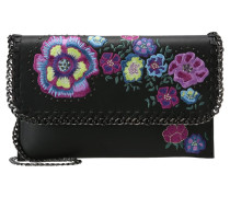 CHESTER FLORL - Clutch - black