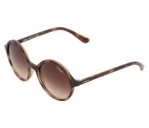 Sonnenbrille dark havana