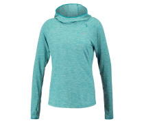 ELEMENT Langarmshirt teal charge/reflective silver