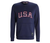 USA Sweatshirt midnight/white