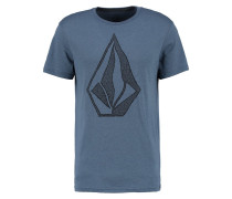 CREEP STONE MODERN FIT - T-Shirt print - blau