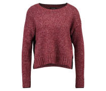BRIGHT - Strickpullover - burgundy
