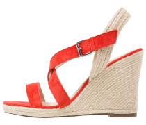 High Heel Sandaletten rouge