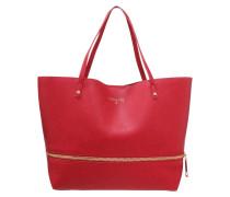 Shopping Bag matt red