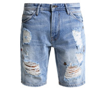 Jeans Shorts - destroyed light stone