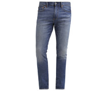 Jeans Slim Fit worn medium blue