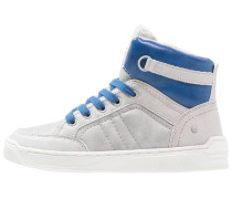 Sneaker high blue/grey