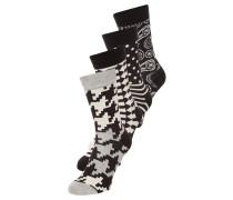 4 PACK - Socken - schwarz