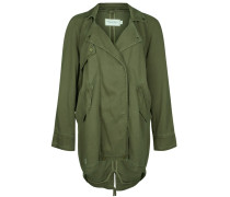 ARMY FLOW Parka washed olive