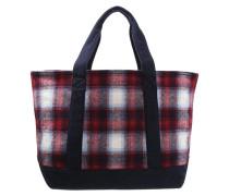 Shopping Bag red plaid