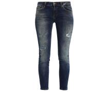 MINA - Jeans Slim Fit - cometa wash