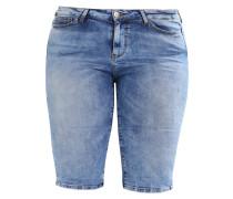 JRFIVE - Jeans Shorts - medium blue denim