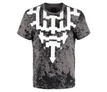 REGULAR FIT TShirt print grey