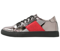 Sneaker low gunmetal
