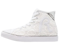 Sneaker high - white