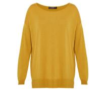 Strickpullover dark yellow