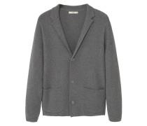 Strickjacke dark heather grey
