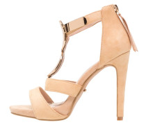 NELL Plateausandalette beige