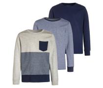 3 PACK - Langarmshirt - blue