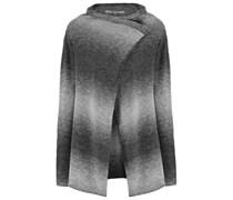 Strickjacke grey melange/offwhite