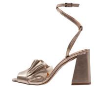 RUBIX - High Heel Sandaletten - gold