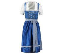 Dirndl royal blau