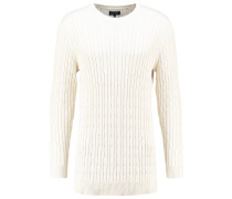 Strickpullover off white