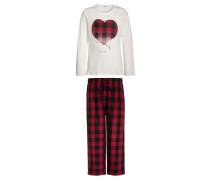 Pyjama cherry red